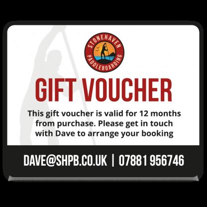 Stonehaven Paddleboarding Gift Voucher